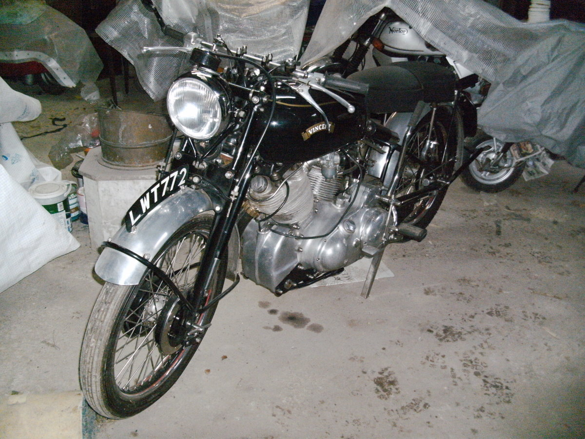 1952 Vincent Rapide restored For Sale (picture 1 of 6)