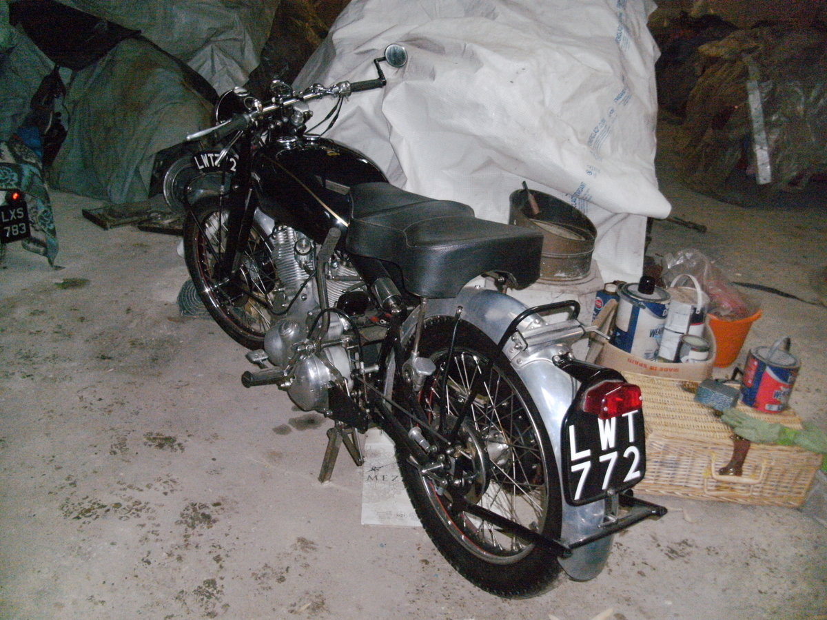 1952 Vincent Rapide restored For Sale (picture 3 of 6)