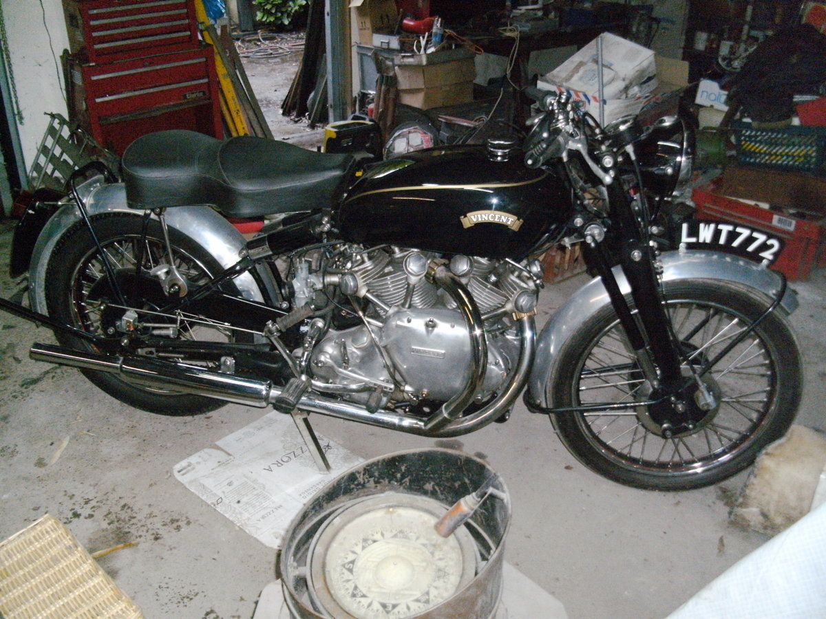 1952 Vincent Rapide restored For Sale (picture 5 of 6)