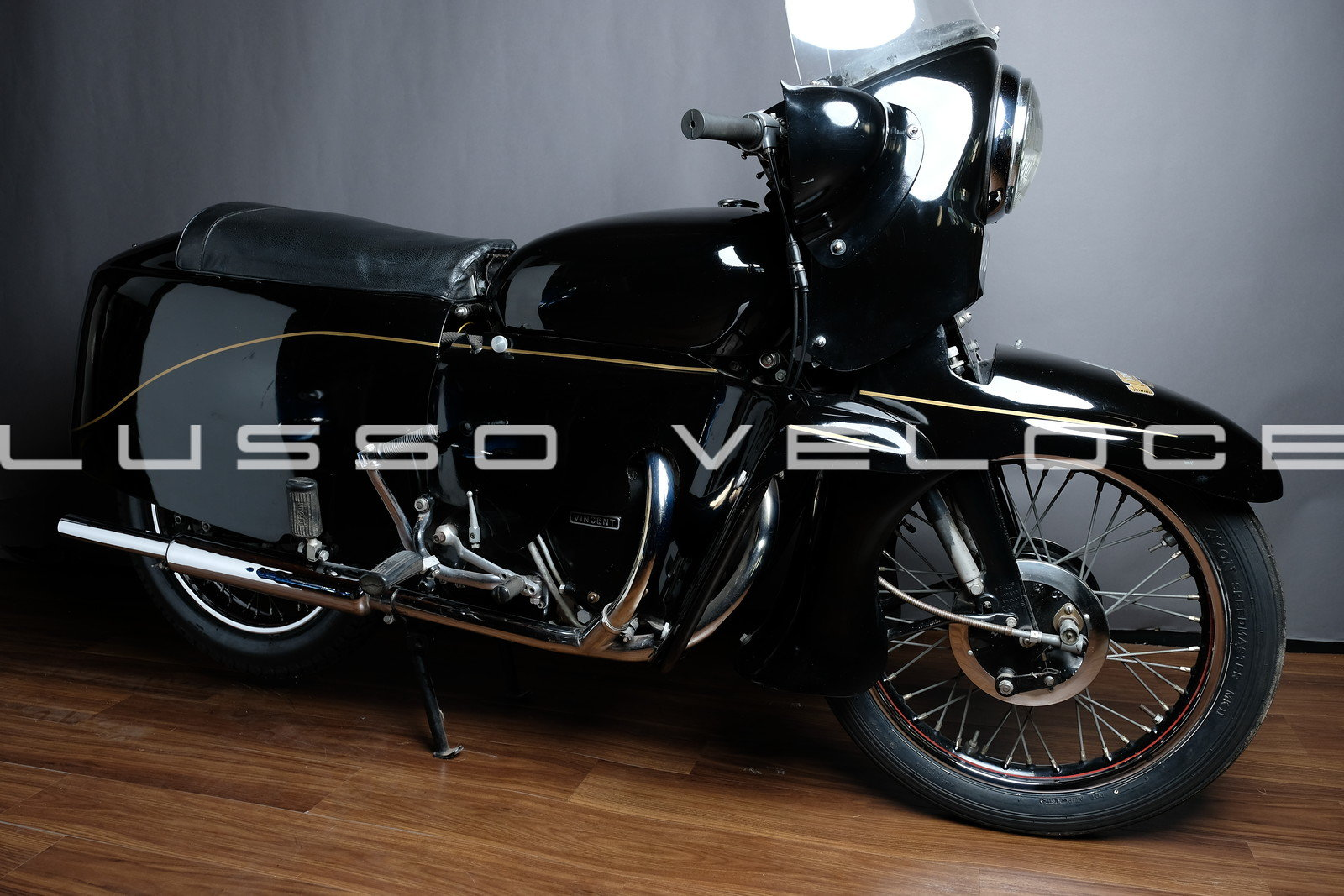 1955 Vincent Black Knight Twin Ex Peter Darvill For Sale (picture 1 of 6)