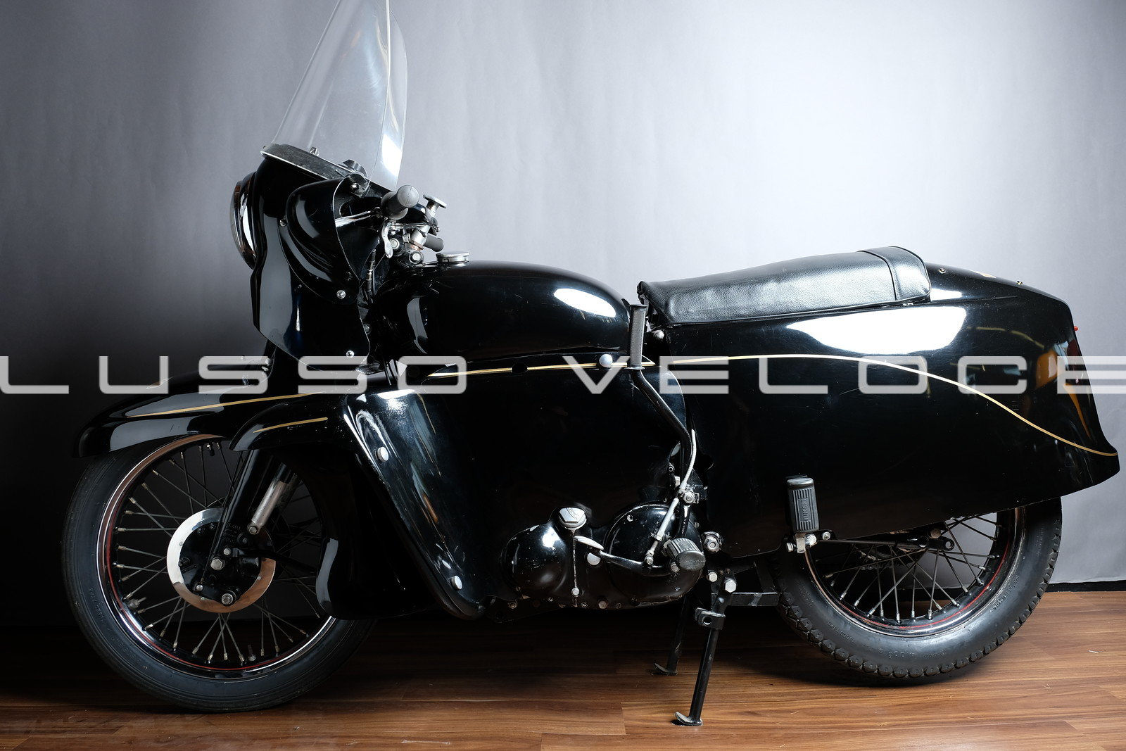 1955 Vincent Black Knight Twin Ex Peter Darvill For Sale (picture 4 of 6)