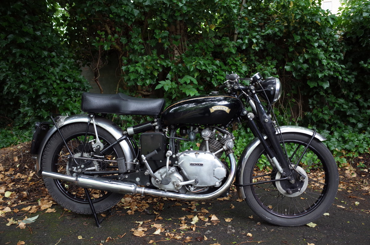1951 Vincent Comet C. Matching numbers. For Sale (picture 1 of 6)