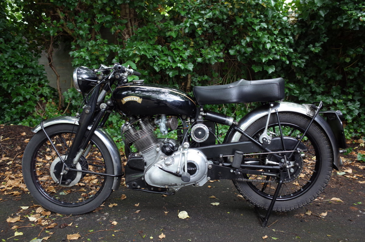 1951 Vincent Comet C. Matching numbers. For Sale (picture 3 of 6)