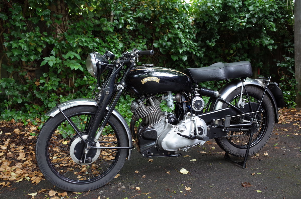 1951 Vincent Comet C. Matching numbers. For Sale (picture 4 of 6)