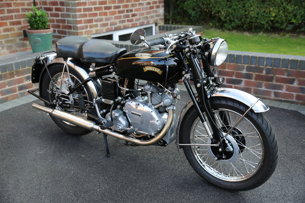 1952 Vincent Comet Series C SOLD (picture 1 of 5)