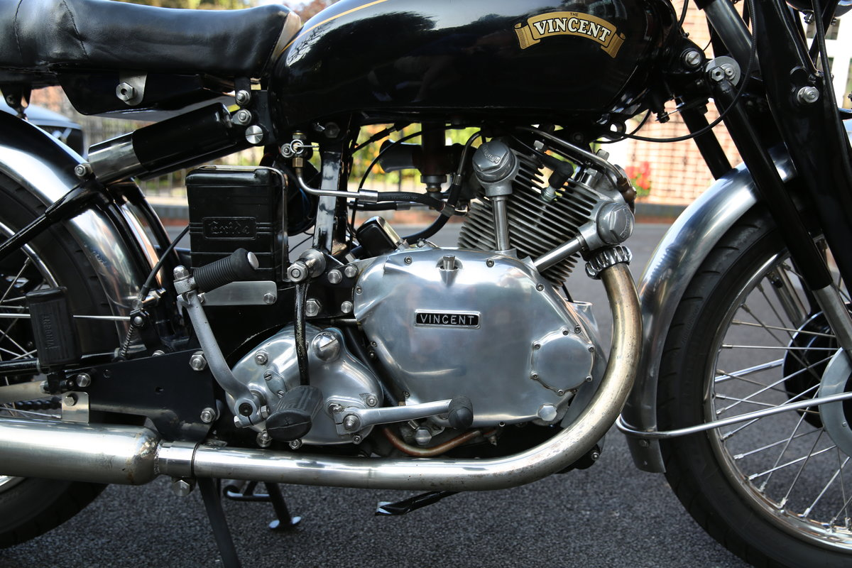 1952 Vincent Comet Series C SOLD (picture 5 of 5)