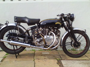 Picture of 1952 VINCENT RAPIDE SOLD