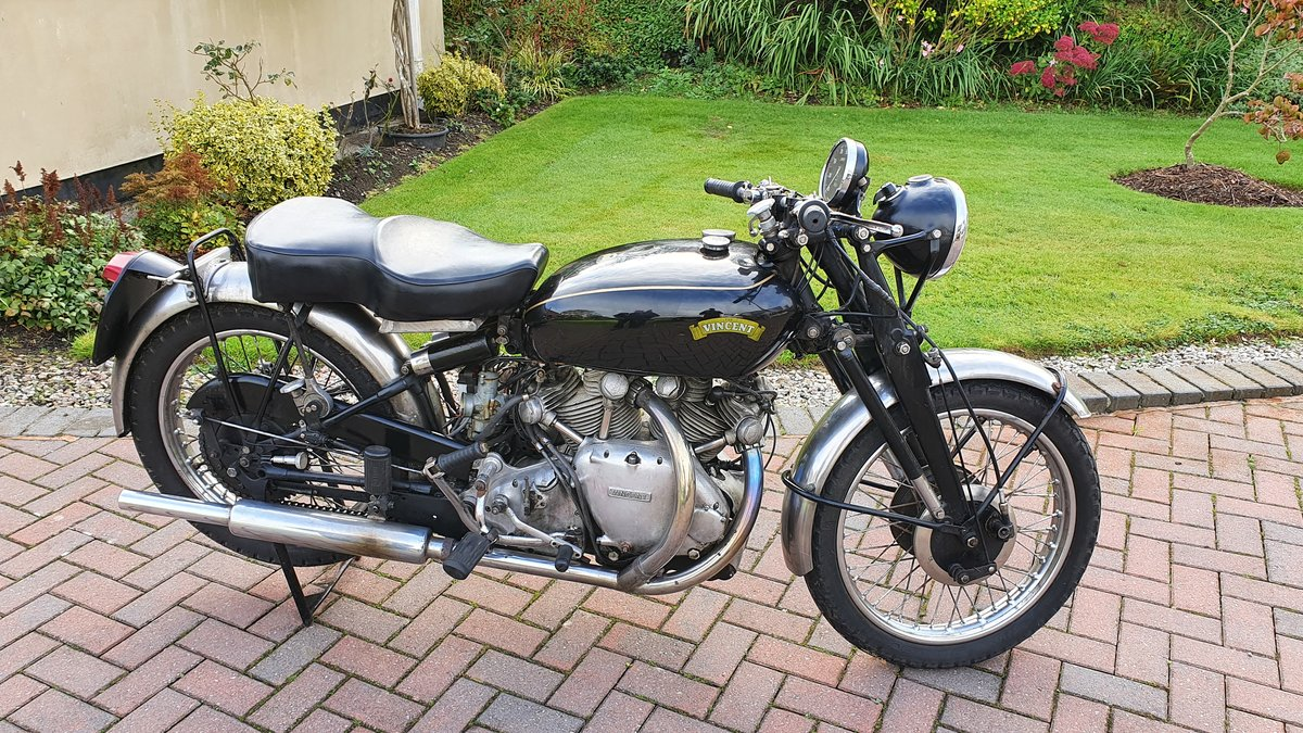 1953 Vincent Rapide C For Sale (picture 1 of 3)