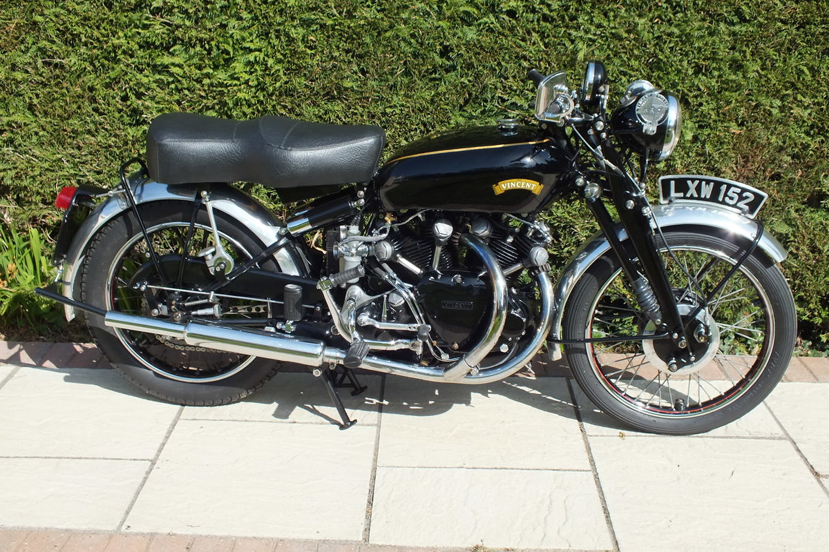 1951 Vincent Series C Black Shadow SOLD (picture 1 of 3)