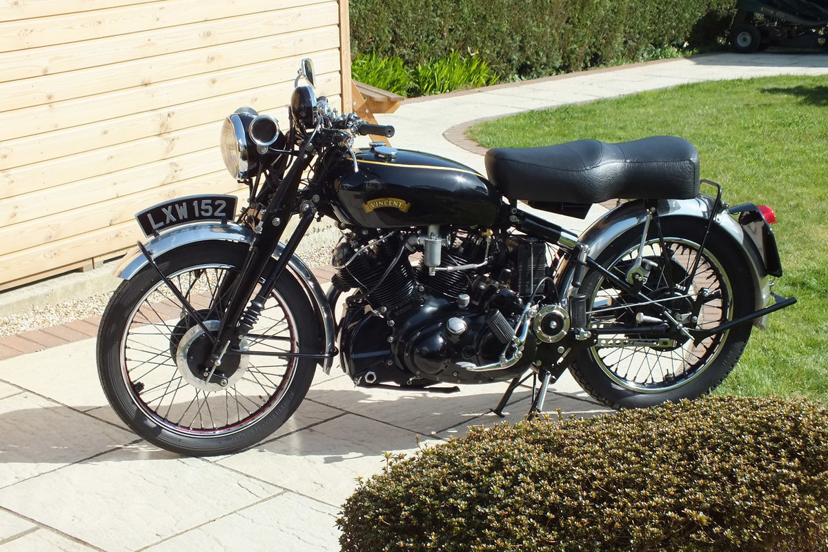 1951 Vincent Series C Black Shadow SOLD (picture 2 of 3)