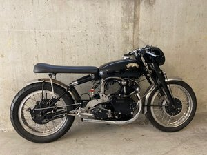 For sale VINCENT HRD 500cc racer