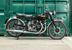 Picture of 1951 Vincent 998cc Series C Black Shadow For Sale by Auction