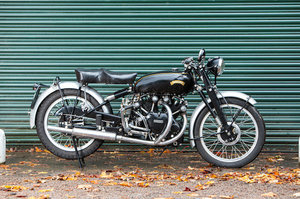 Picture of 1951 Vincent 998cc Series-C Black Shadow For Sale by Auction