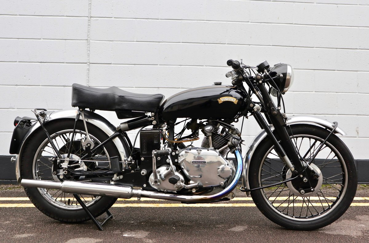 1950 Vincent Comet 500cc - All Original Matching Example SOLD (picture 1 of 16)