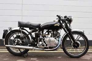 1950 Vincent Comet 500cc - All Original Matching Example