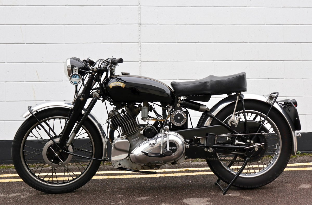 1950 Vincent Comet 500cc - All Original Matching Example SOLD (picture 2 of 16)