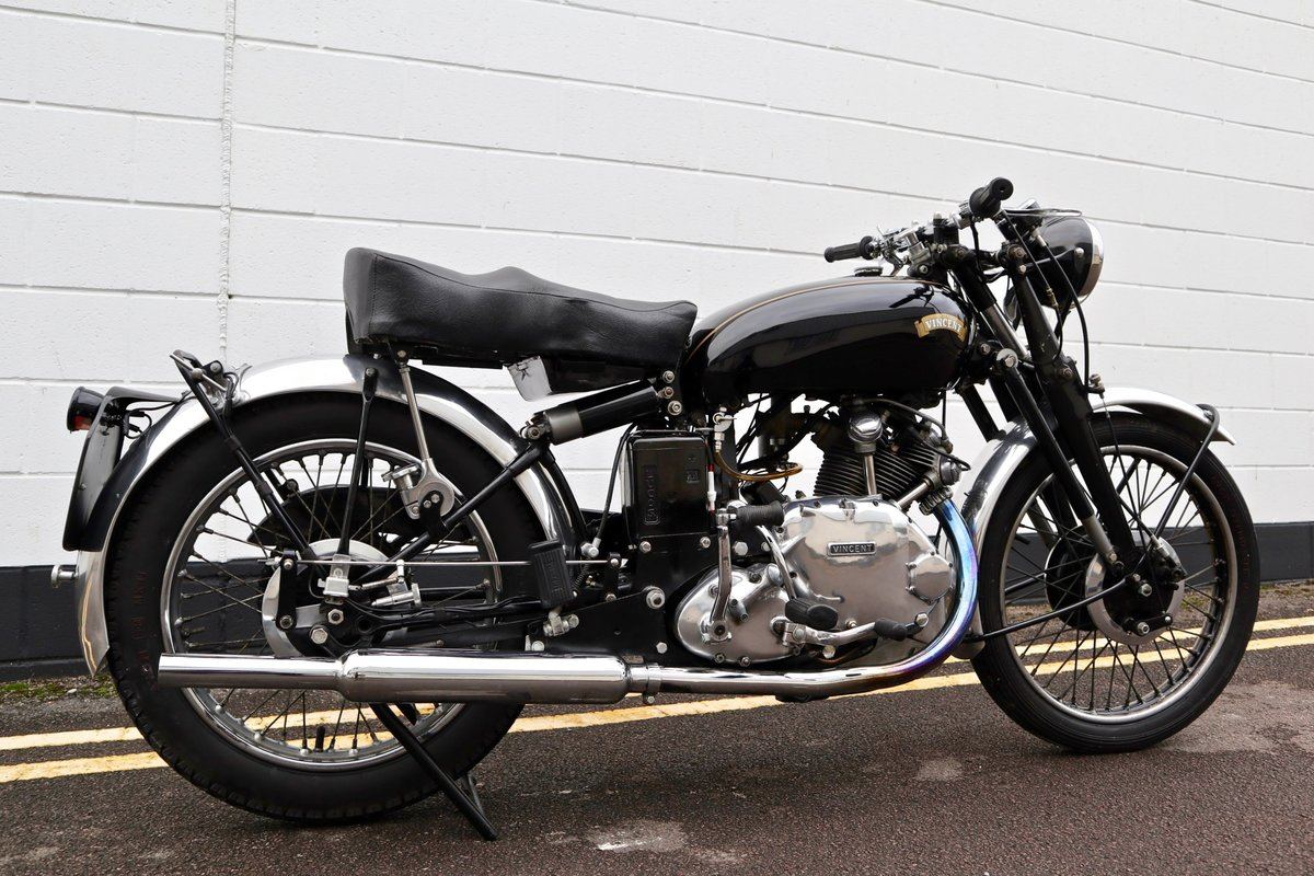 1950 Vincent Comet 500cc - All Original Matching Example SOLD (picture 3 of 16)