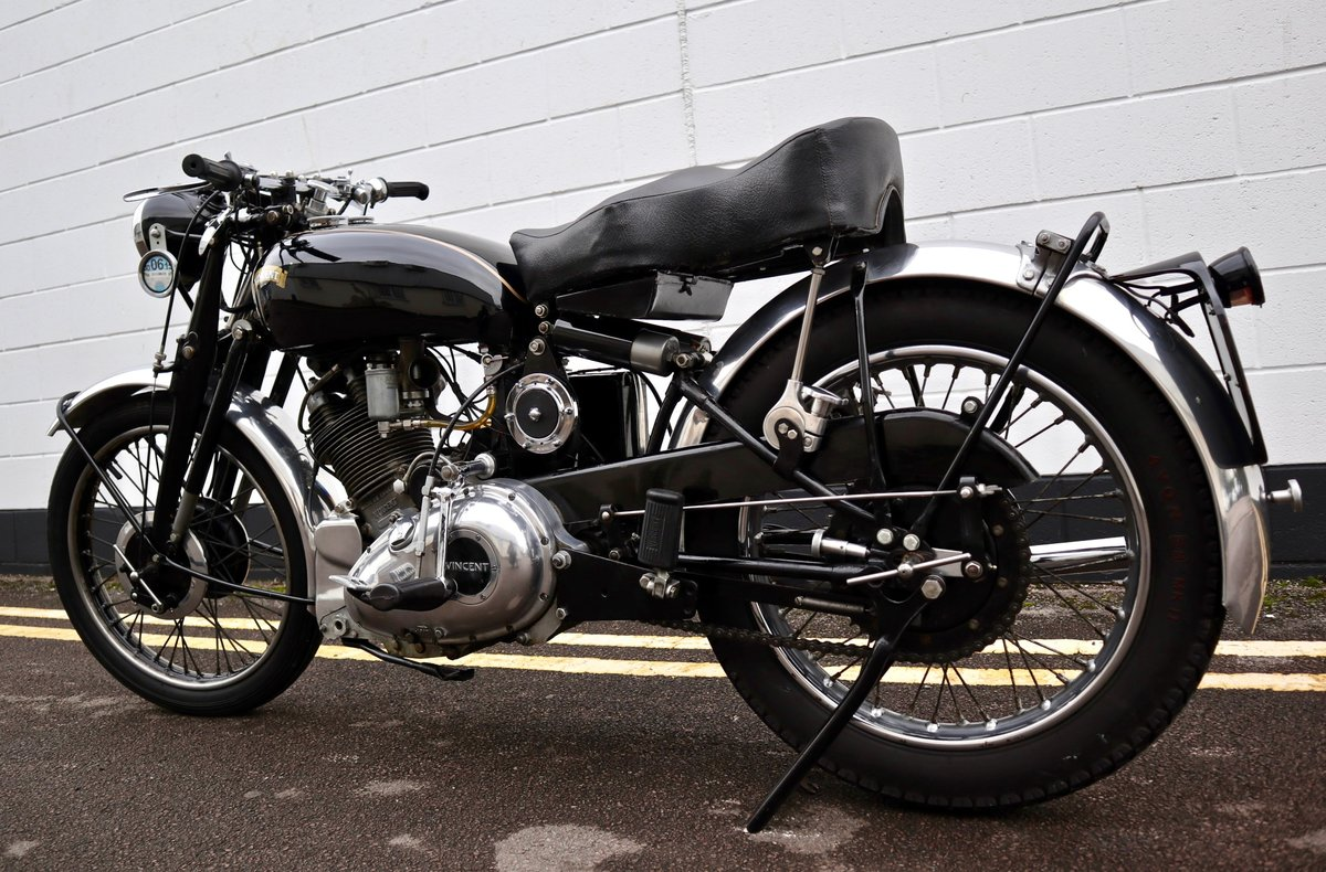 1950 Vincent Comet 500cc - All Original Matching Example SOLD (picture 4 of 16)