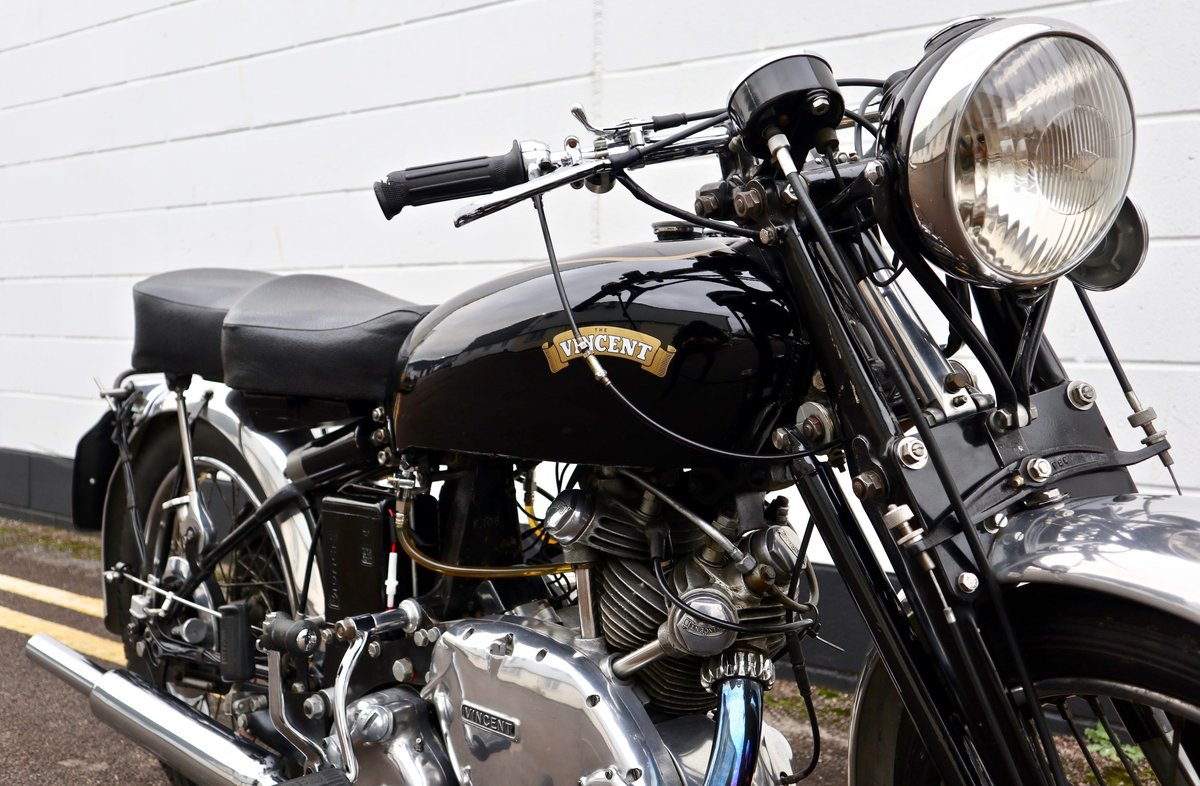 1950 Vincent Comet 500cc - All Original Matching Example SOLD (picture 5 of 16)