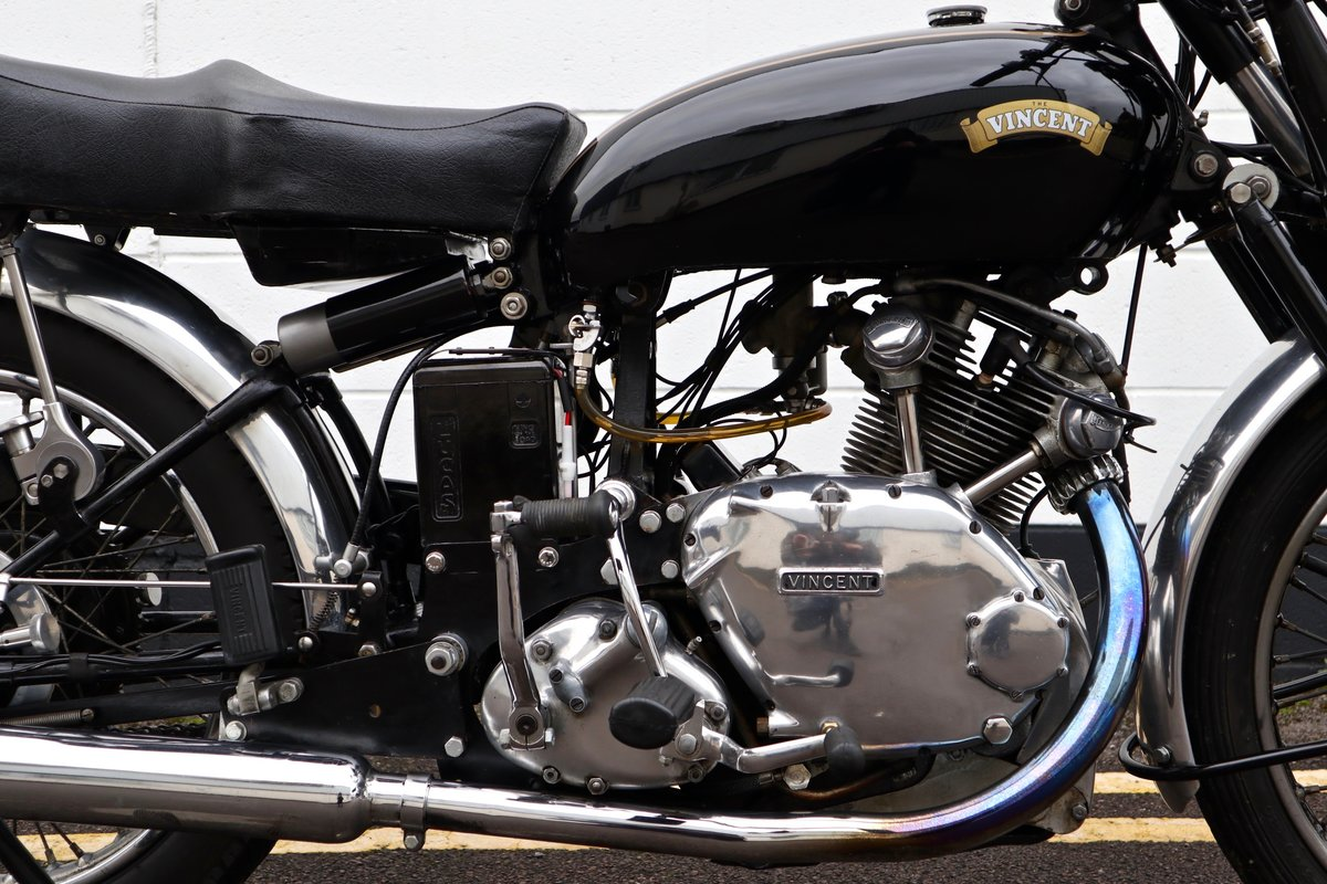 1950 Vincent Comet 500cc - All Original Matching Example SOLD (picture 7 of 16)