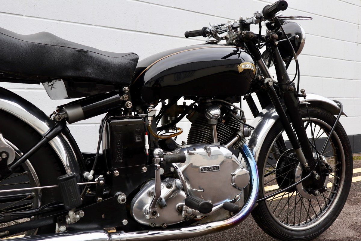 1950 Vincent Comet 500cc - All Original Matching Example SOLD (picture 10 of 16)