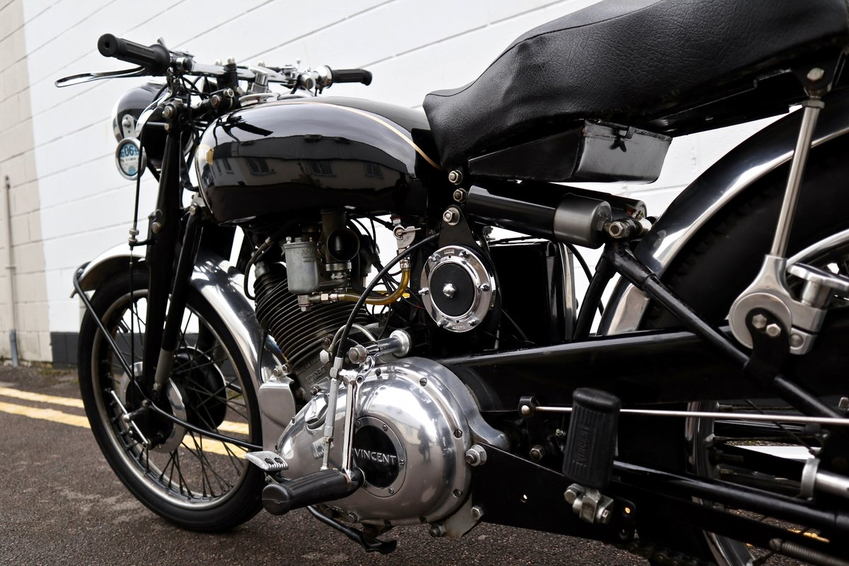 1950 Vincent Comet 500cc - All Original Matching Example SOLD (picture 11 of 16)