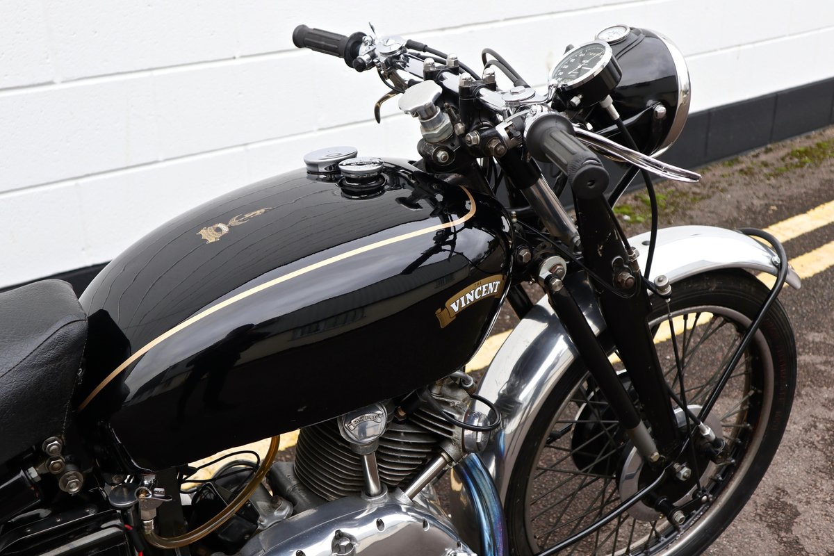 1950 Vincent Comet 500cc - All Original Matching Example SOLD (picture 12 of 16)