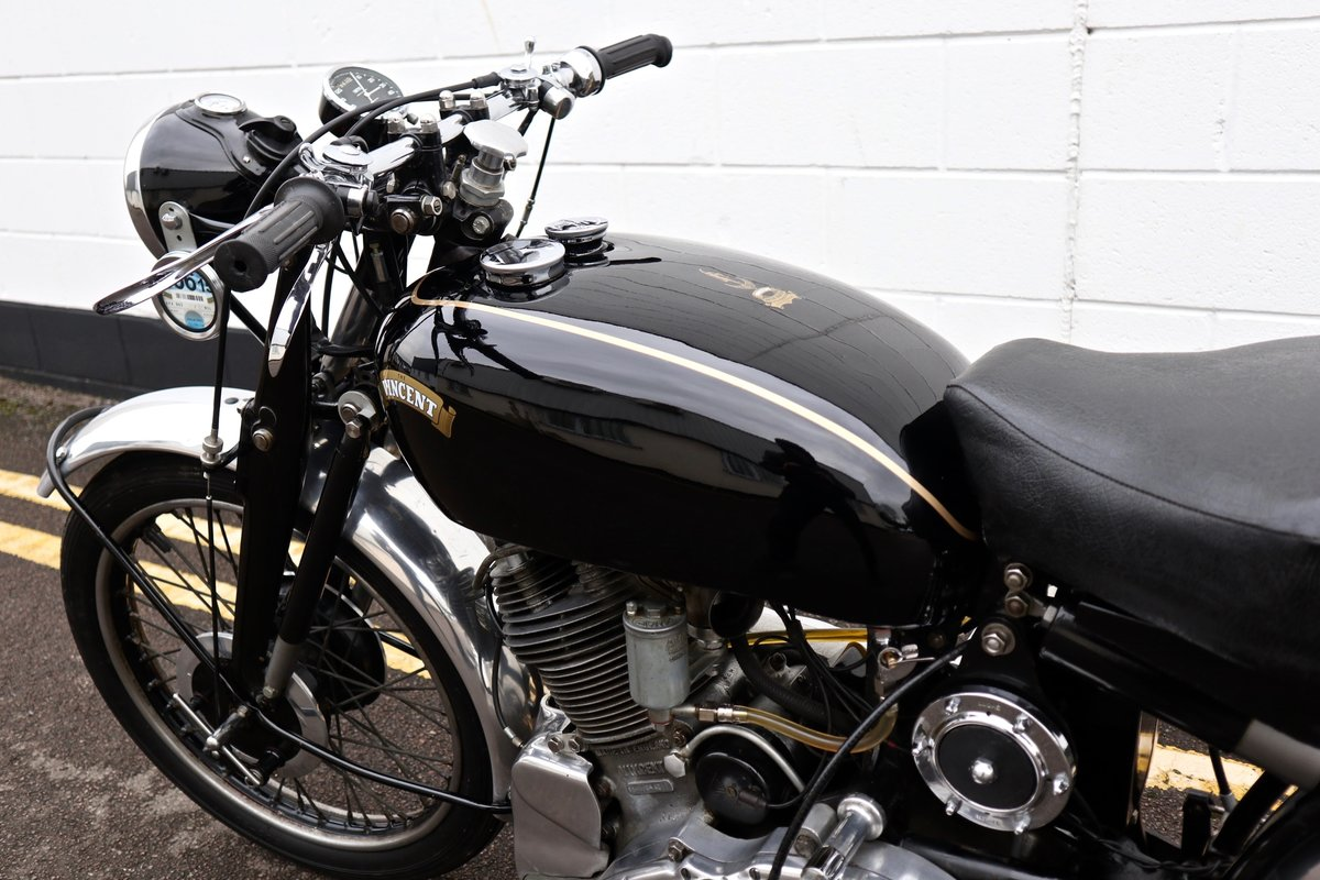 1950 Vincent Comet 500cc - All Original Matching Example SOLD (picture 13 of 16)