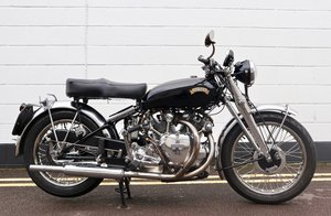 1952 Vincent Rapide Series C 998cc - All Correct Number!