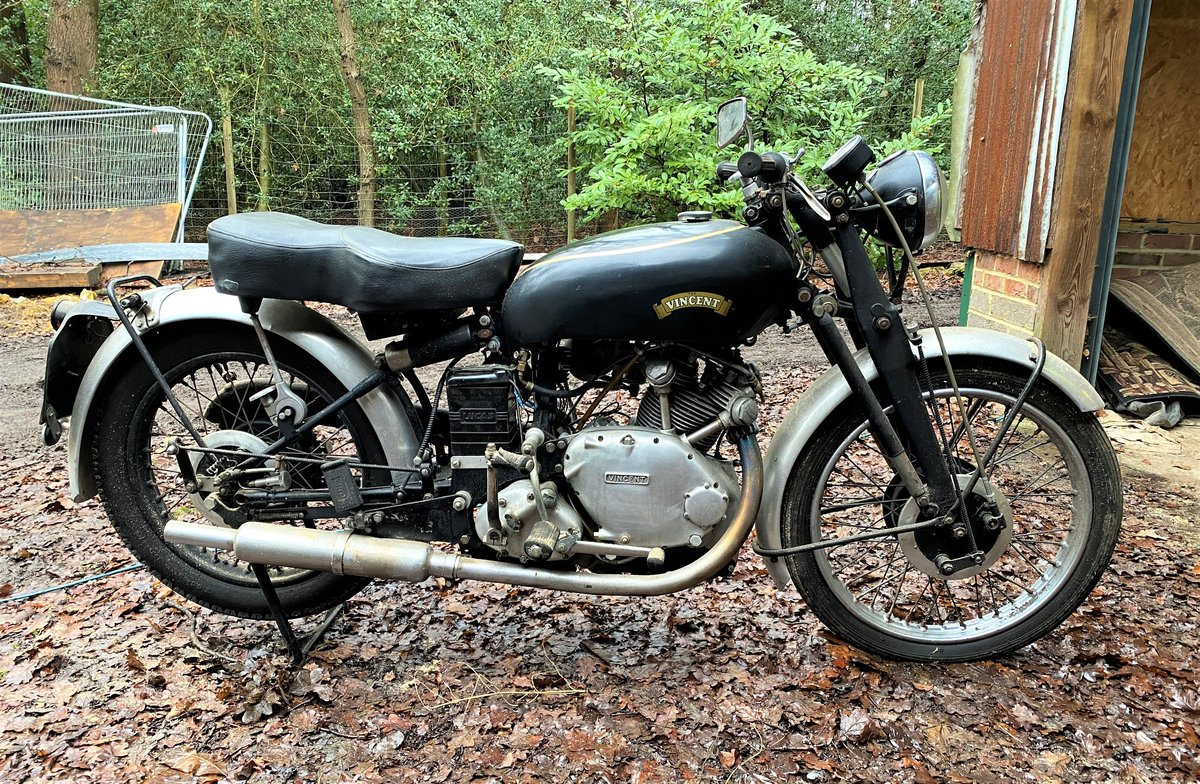 1951 Vincent Comet Series C For Sale by Auction (picture 1 of 50)