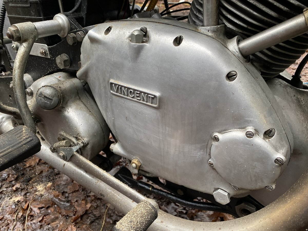 1951 Vincent Comet Series C For Sale by Auction (picture 7 of 50)