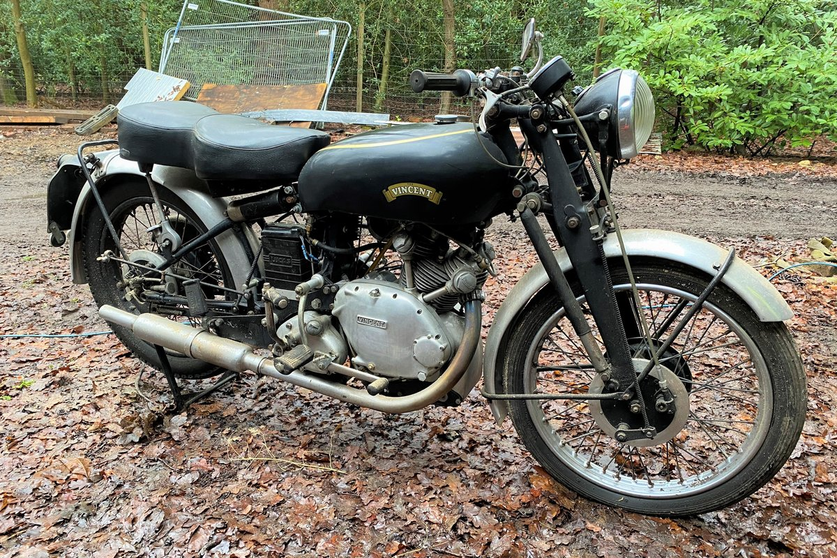 1951 Vincent Comet Series C For Sale by Auction (picture 30 of 50)