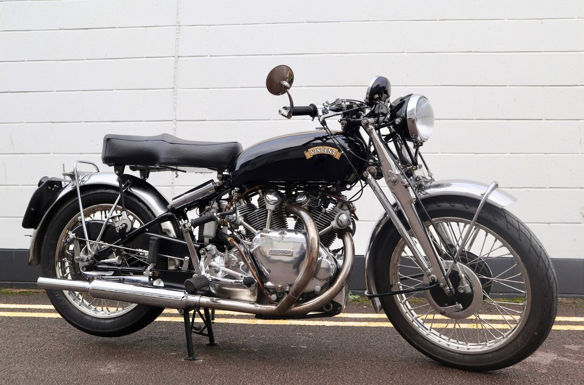 1952 Vincent Rapide Series C 998cc - All Correct Number! For Sale (picture 1 of 30)