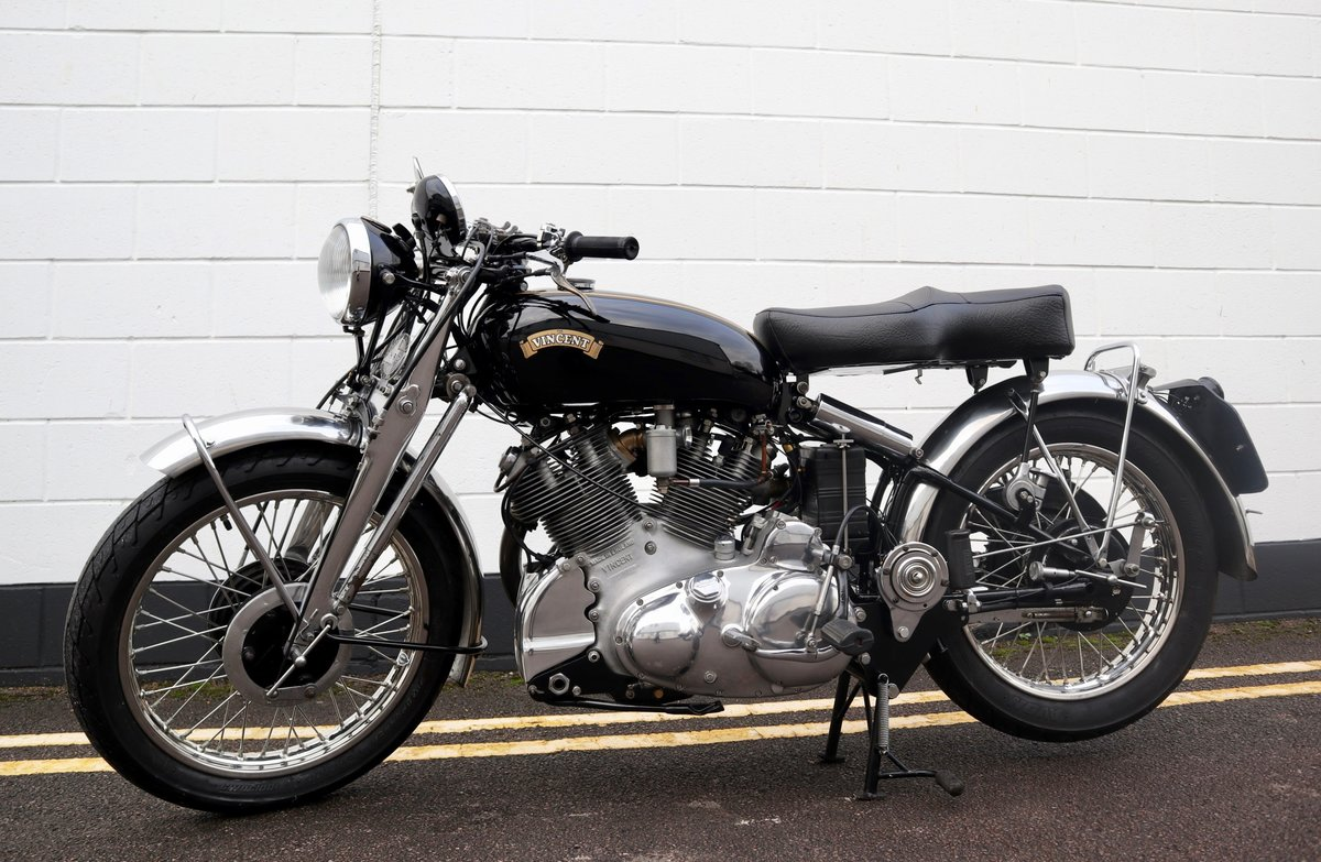 1952 Vincent Rapide Series C 998cc - All Correct Number! For Sale (picture 2 of 30)