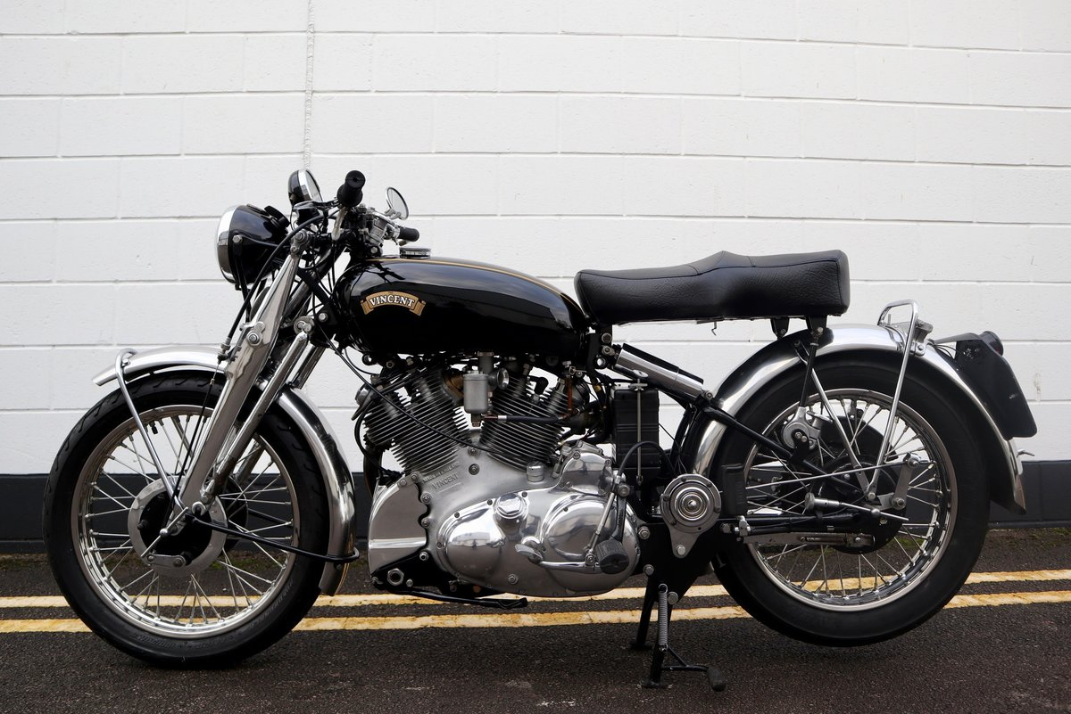 1952 Vincent Rapide Series C 998cc - All Correct Number! For Sale (picture 4 of 30)