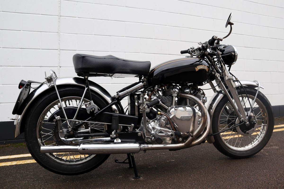 1952 Vincent Rapide Series C 998cc - All Correct Number! For Sale (picture 5 of 30)