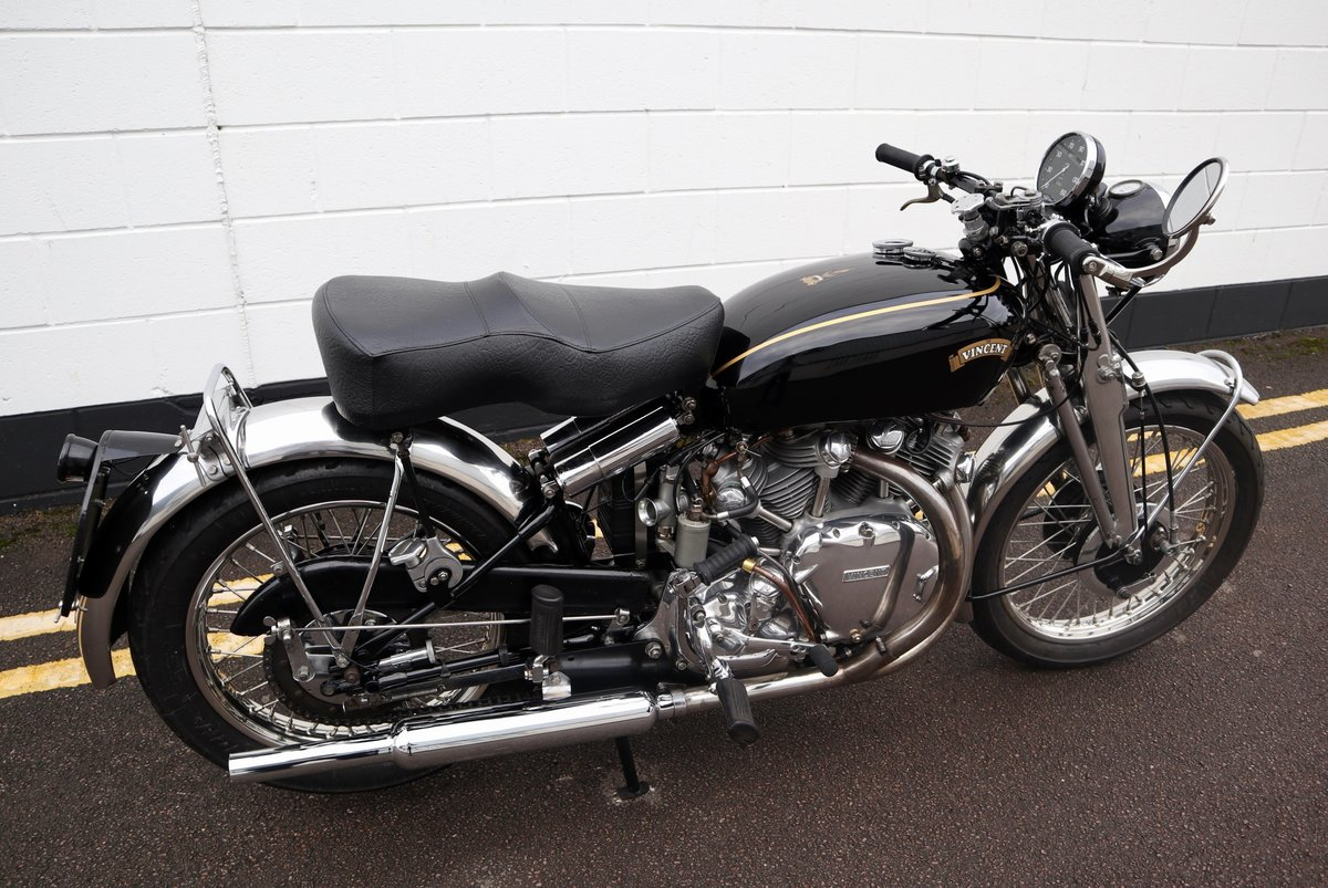 1952 Vincent Rapide Series C 998cc - All Correct Number! For Sale (picture 7 of 30)