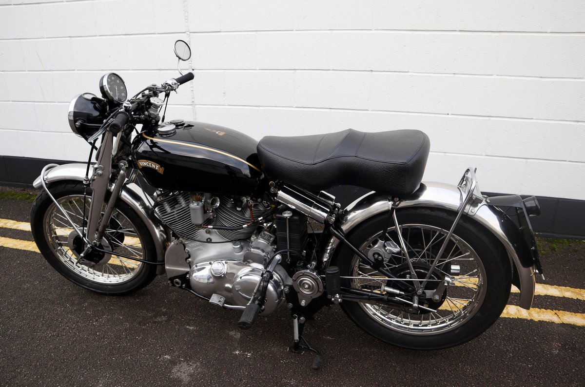 1952 Vincent Rapide Series C 998cc - All Correct Number! For Sale (picture 8 of 30)