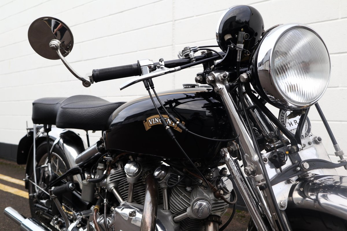 1952 Vincent Rapide Series C 998cc - All Correct Number! For Sale (picture 9 of 30)