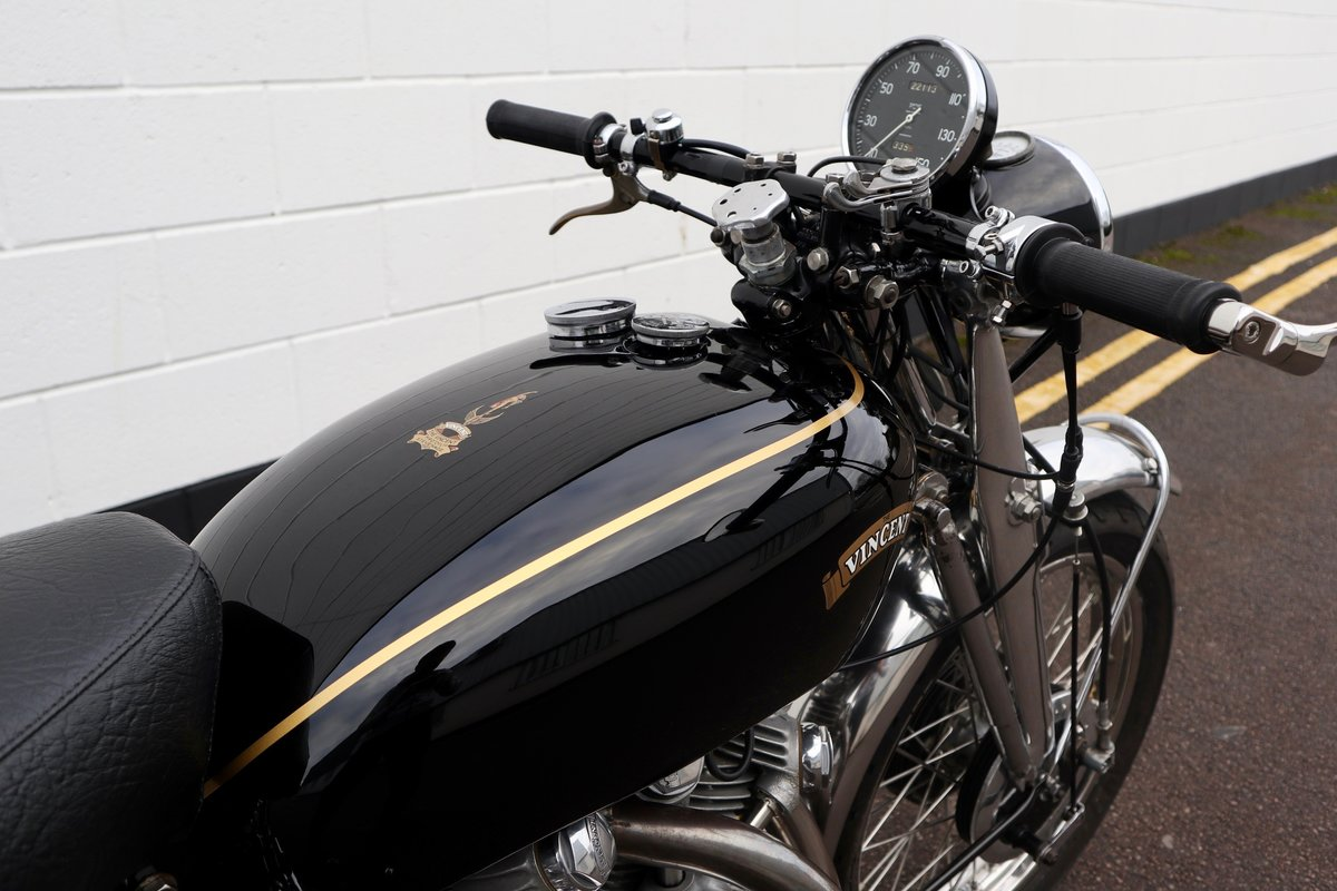 1952 Vincent Rapide Series C 998cc - All Correct Number! For Sale (picture 25 of 30)