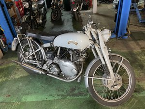 Picture of vincent comet grey flash replica 1951 rare machine swap px For Sale