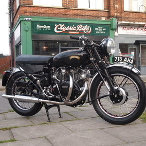 Picture of 1956 Vincent Black Shadow Series Model D. RESERVED FOR PAUL B. For Sale