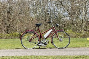 Picture of Vincent 48cc Firefly Cyclemotor and Sun Bicycle (see text) L For Sale by Auction