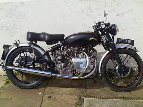 1953 VINCENT RAPIDE 1000 SOLD (picture 1 of 6)