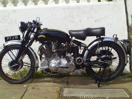 1953 VINCENT RAPIDE 1000 SOLD (picture 3 of 6)