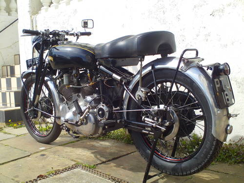 1953 VINCENT RAPIDE 1000 SOLD (picture 4 of 6)