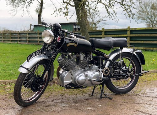 1950 VINCENT RAPIDE SERIES SOLD (picture 2 of 6)