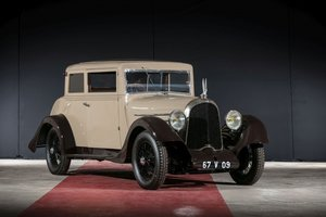 1926 Voisin C4 S coach - No reserve For Sale by Auction