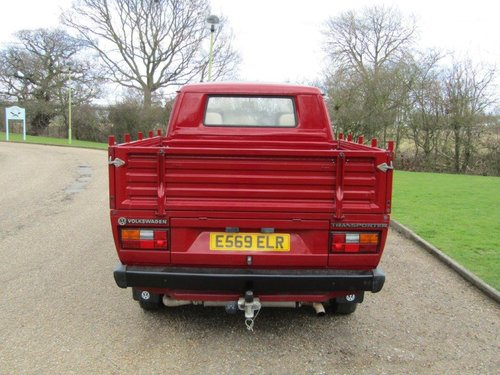 1987 Volkswagen TRANSPORTER CREW CAB 78 Pick-up FULLY RESORE For Sale (picture 2 of 6)
