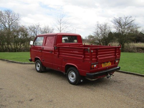 1987 Volkswagen TRANSPORTER CREW CAB 78 Pick-up FULLY RESORE For Sale (picture 3 of 6)